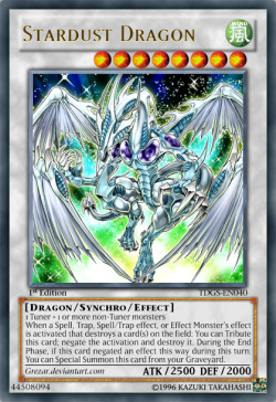 ailuruckus:  There's my signature card, along with Light and Darkness Dragon.  Favorite card