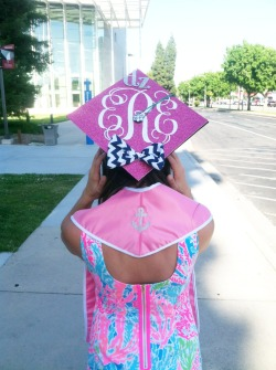scotchandsparkles: ΔΖ prepster princess is graduating!