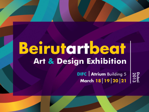 "DOSSIER: Art & Design Beirut Art Beat brings together some of the most renowned designers straight from the heart of Lebanon. With designers in the field of jewellery and fashion, to unique and avant garde interior and furniture pieces, not to mention some truly awe-inspiring artists – the exhibit will inspire and appeal to everyone.  The event will include lectures being held by the designers themselves including Mona Maktabi's ""the undiscovered carpet"", running on 20 March, an arts and crafts workshop will be held on 21 March, welcoming the whole family to participate. The opportunity to purchase some treasures from the market is also not to be missed.  Dates: Monday 18th* Opening night (6-10pm)//Tuesday 19th – Thursday 21st (11am-9pm) Time: 11am – 9pmVenue: The Atrium, DIFC (building 5)"