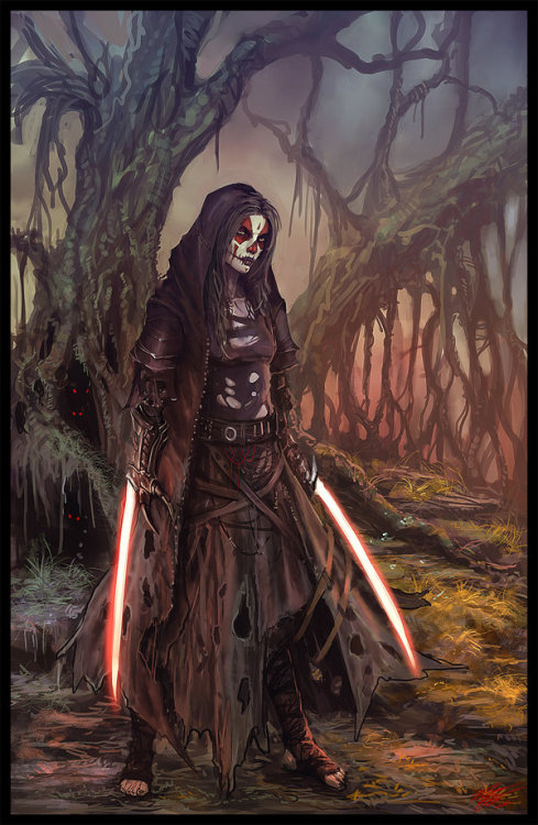 kroniar:  Sith Assassin by *Peter-Ortiz