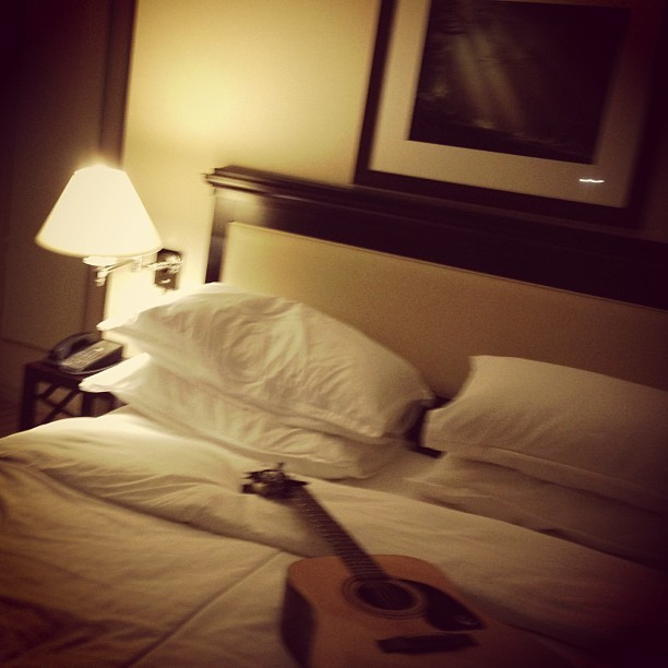 hotel nights. only one thing missing.