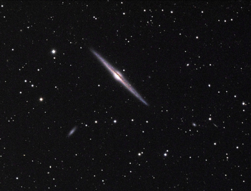 breathesuniverse:  NGC 4565 by Astrobobo on Flickr.