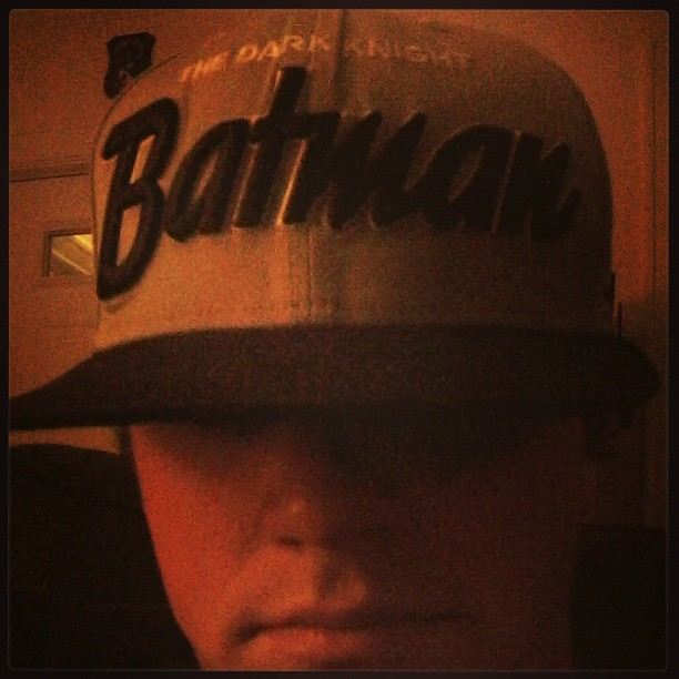 That there other Batman hat. #Batman #snapback #hat #dc #comics
