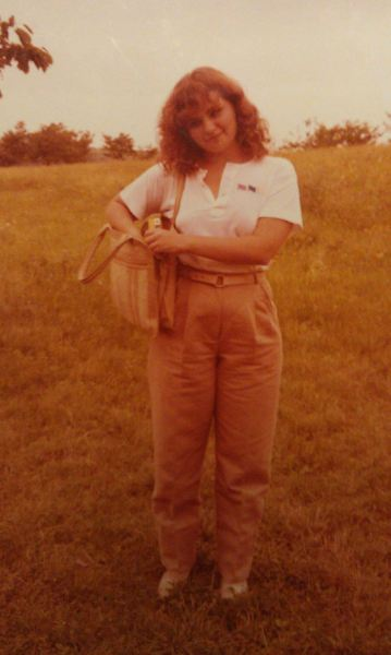 this is my mom when she was 19. i basically look exactly like this now. i love it. my mom is the most beautiful, smartest, strongest, most compassionate woman i know and i couldn't be happier about being just like her. happy mother's day, mama! love you so so so much.