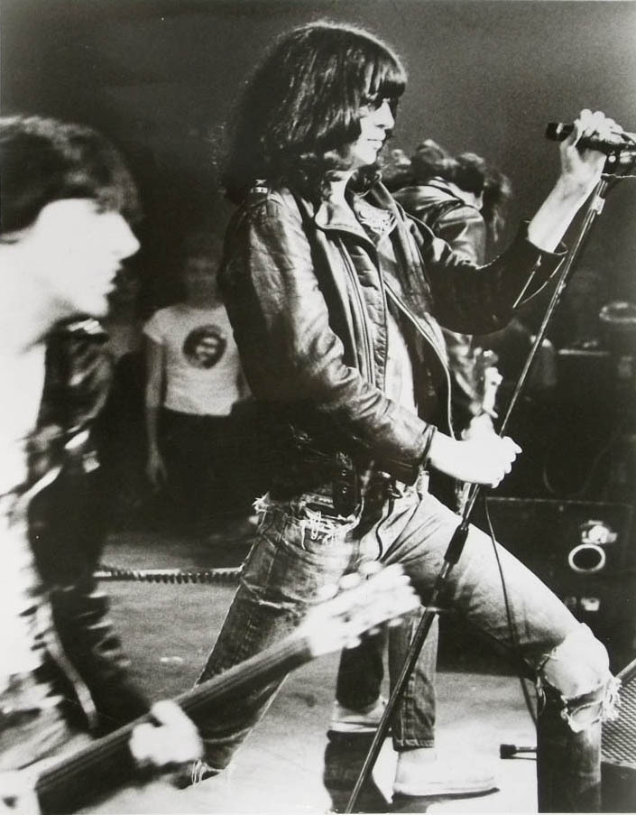 zombiesenelghetto:  Happy Bday Joey Ramone (May 19, 1951 – April 15, 2001), photograph from a 1977 press release