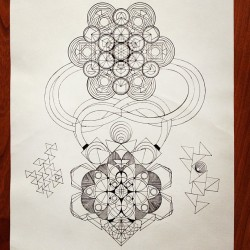 trialxdesign:  a forgotten completed. #sacredgeometry #metatronscube #geometry #design #create #imagination #art
