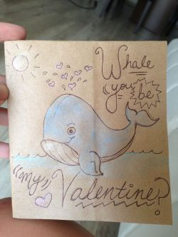ileftmyheartindixie:  Because homemade cards are the best :)