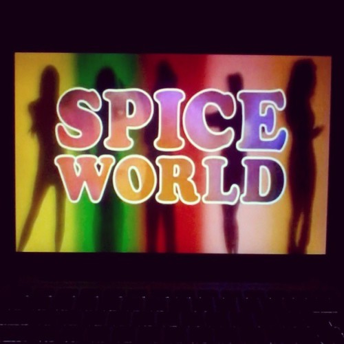 So this is my evening. No regrets. #SpiceWorld
