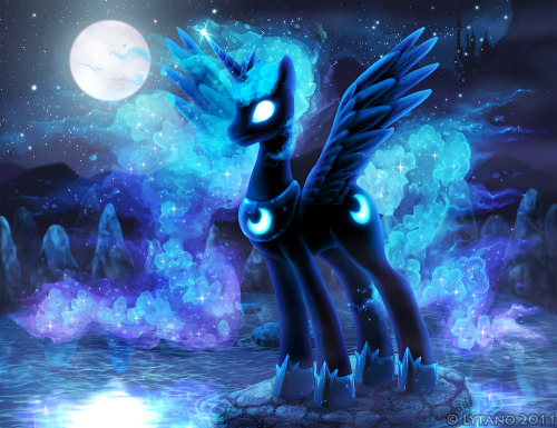 mylittleponyoficialg4:  Princess of the Moon by =Lytano