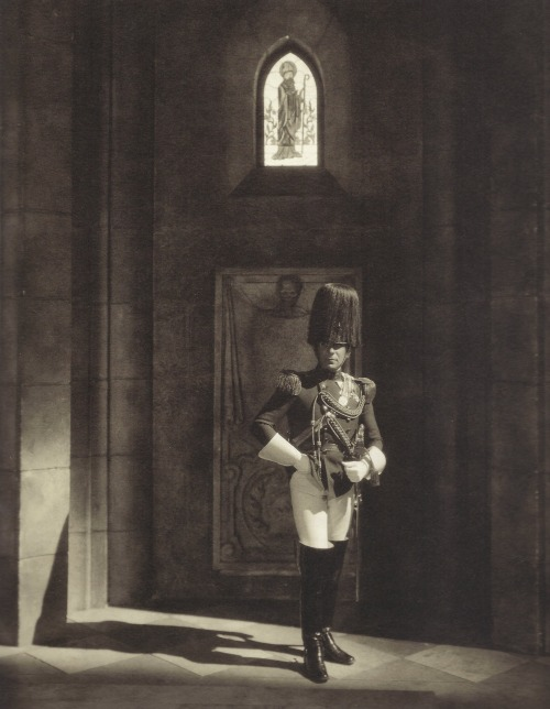 Edward Steichen- Erich von Stroheim dans son film The Wedding March, 1926