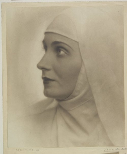 Nun for today. Alexander Leventon - Serenity II, 1931. … via MIA