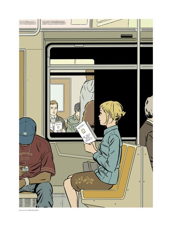 Prints of Adrian Tomine Illustrations Published in 'The New Yorker'