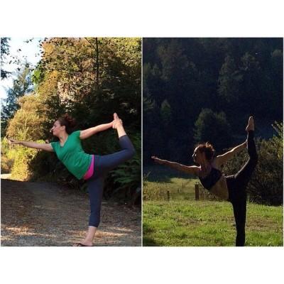 I love progress pics! 🙌 5wks ago on the left and the one on the right is yesterday. #lordofdancepose #dancerspose #asana #igyoga #inspiredyogis #believeinmagic #strength #yogainspiration #yogaeverydamnday #yogaintheworld #yogajunkie #yogabeyond #yogaaddict #yogapose #yogalove #yogagirl #yogafun #yogini #yoga #yogimama