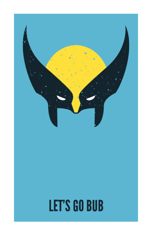 d00ditsjake:  Wolverine  Now on my Society6