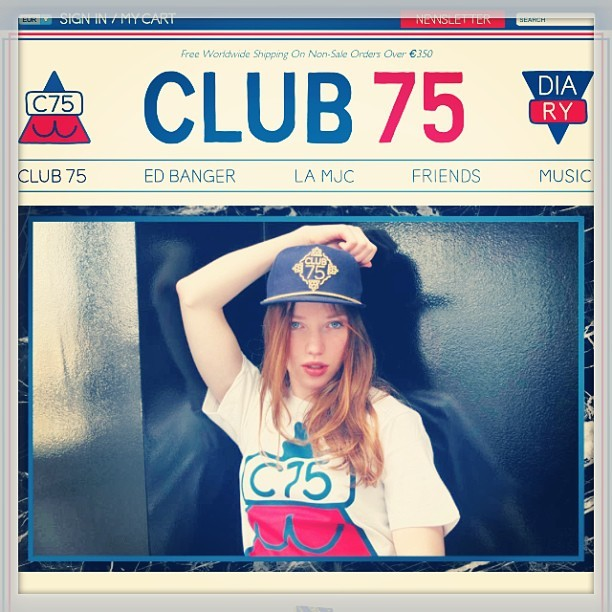 Go! Go! Pakalo! #club75 #club75official #club75websitelaunch #paris #diodiavolo #dreamerofdreams #squalo #suburbanboy #skypeople #starpeople #goodold #goodday