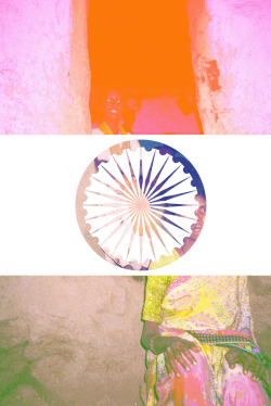 'Unsteady' film/digital collage, India
