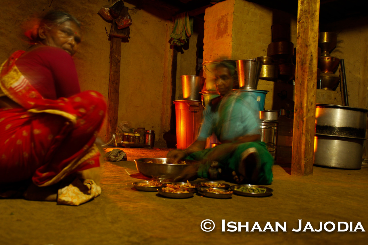 Preparing Food In An India Village (Long Exposure) -Ishaan Jajodia Photography