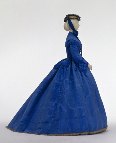 Day dress ca. 1867 From the Wurttemburg State Museum