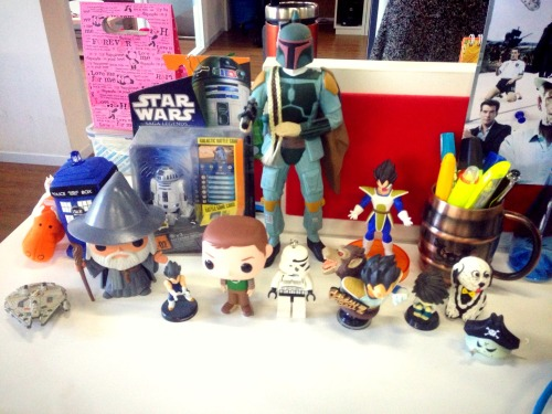 Say hello to your new friends, kids! at Desk Of Toys And Work – View on Path.