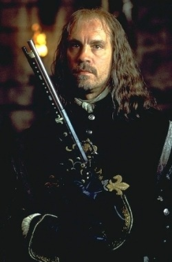 "John Malkovich as Athos In ""The man on the iron mask"""