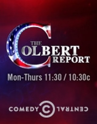 I'm watching The Colbert Report                        96 others are also watching.               The Colbert Report on GetGlue.com