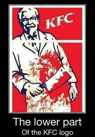 epic-humor:  The lower part of the KFC logo