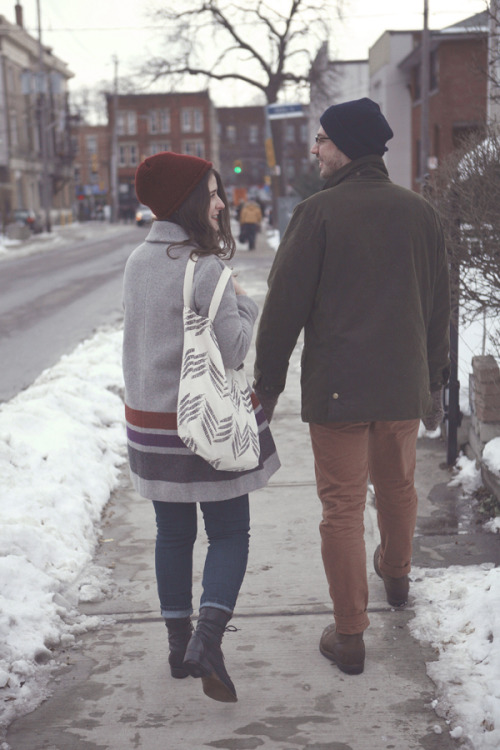 the-streetstyle:  Natasha Bigioni & Josh Flear in Brockton Village (by Arden Wray)via bootsandpine