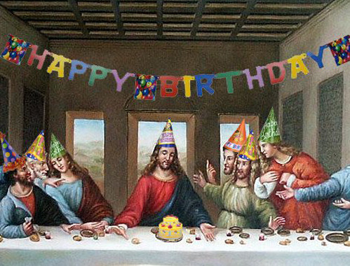 Happy Birthday, Jesus.