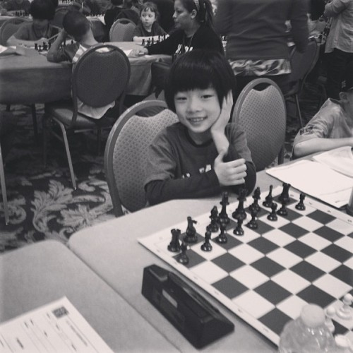.@PSMS282 The #ParkSlope School's Hewitt at chess nationals in Nashville (at Gaylord Opryland Resort)
