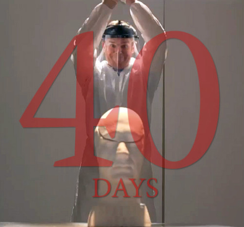 dexterdailynews:      40 DAYS UNTIL THE SEASON 8 PREMIERE OF DEXTER!