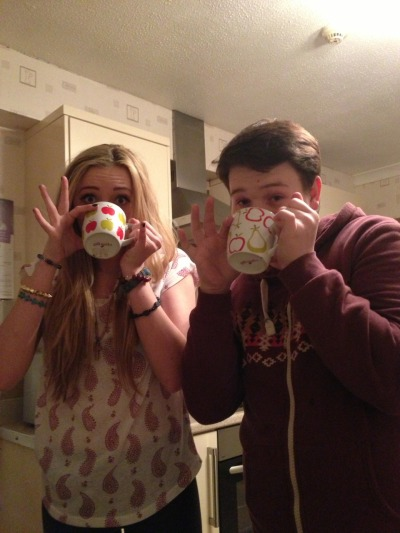Drinking tea with styleee
