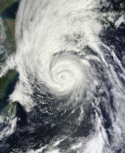 How Big Data Can Boost Weather Forecasting | Smarter Planet Blog Last September, when Typhoon Sanba smashed into the Korean peninsula, it packed winds so strong that they sent rocks flying through the air like missiles and caused massive power outages. Increasing evidence of climate change worldwide is prompting governments and scientists to take action to protect people and property from its effects.  IBM Research scientists are taking the lead in bringing the most sophisticated data analytics to bear on weather forecasting. Their long-term weather analysis project, called Deep Thunder, combines data with sophisticated mathematical algorithms and  computing power.