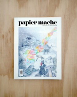 PAPIER MACHE MAGAZINE ISSUE 5: THE DREAM ISSUE I was commissioned to Illustrate the cover for the beautiful Papier Mache magazine, Print Issue #5.