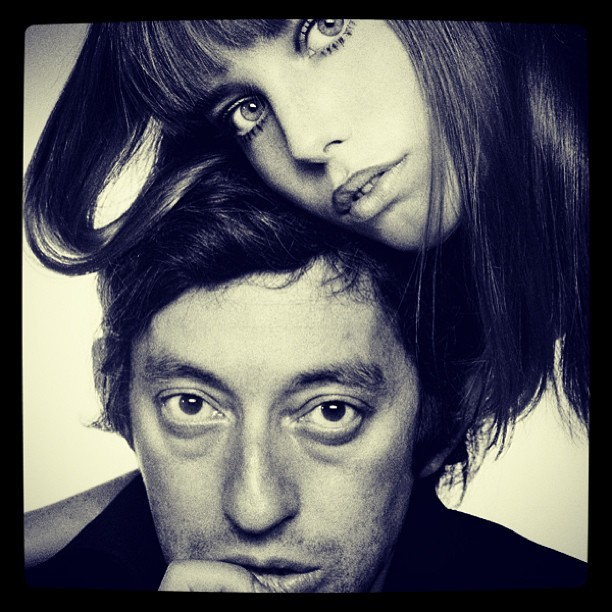 """Je t'aime…moi non plus."" #FrenchStyle avec Serge Gainsbourg and Jane Birkin"