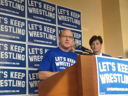 wrestlingisbest:  Join Dan Gable and Let's Keep Wrestling