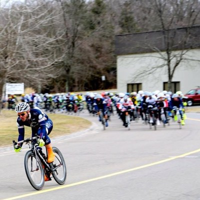 teamsixcycle:  Team Sixcycle off the front today. (Photo by Yehudah Perlowitz)  And then he was gone…and stayed gone. Da #BrooklynHQ saw it first hand as he was racing for second in the blurry pack chasing.  Absolutely brilliant solo attach and win by Matthew Vandivort at today's Tour de Bethel. Oh and he solo'd for the last five laps…#Badass Can't wait to see the finish line pic.