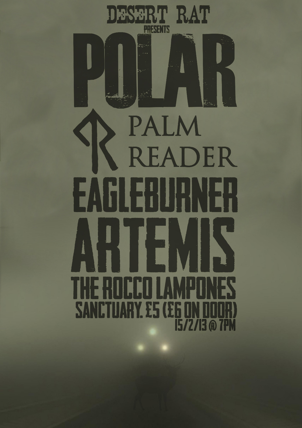 POLAR / PALM READER.