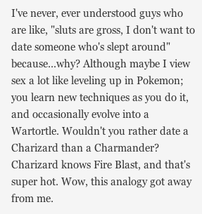 lepus:  thesparhawke:  Jezebel article + comment from a pokemon enthusiast  Hahaha