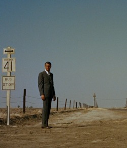 theniftyfifties:  Cary Grant in 'North by Northwest', 1959.