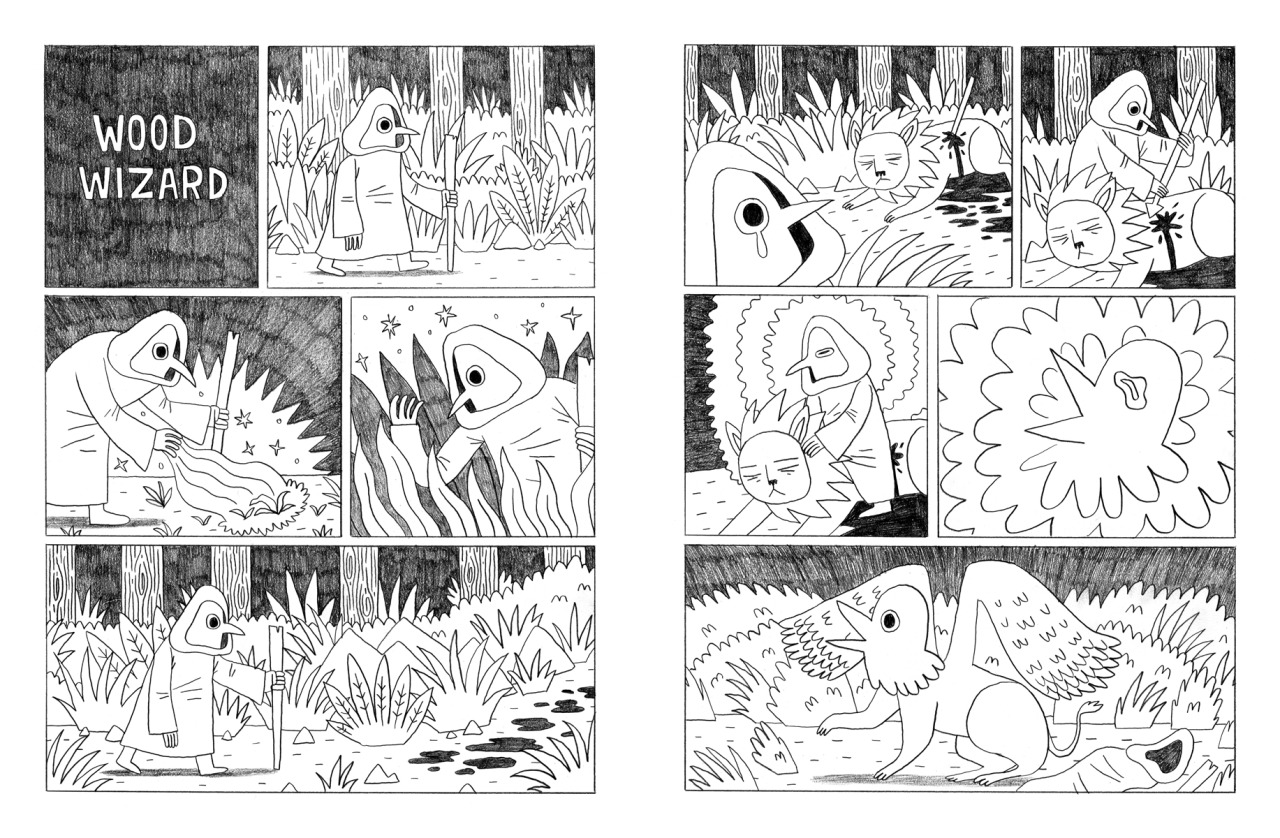 jackteagle:  My 2 page comic for the brand new art publication Tiny Pencil.