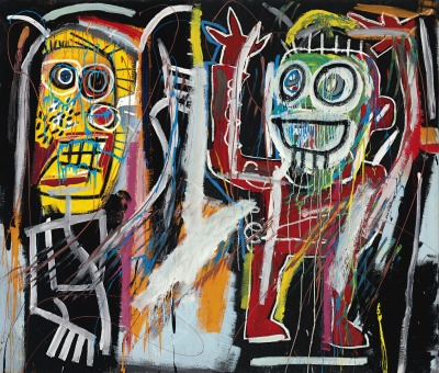 christiesauctions:  Jean-Michel Basquiat (1960-1988)Dustheads Post-War & Contemporary Evening Sale  Currently reading The Last Folk Hero & even more enamored with J.M.B than before :D