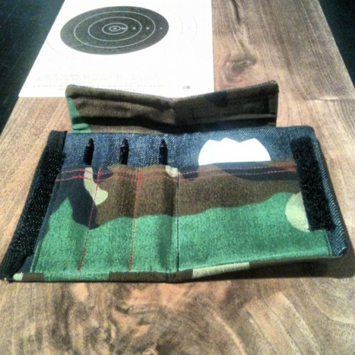 …denim/rip-stop camo dart case. 1/1 #honed #prosteez