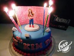 tihnii:  Taeyeon's 25th Birthday Cake from Taengmania  Happy Birthday Taeyeon, saranghae noona!