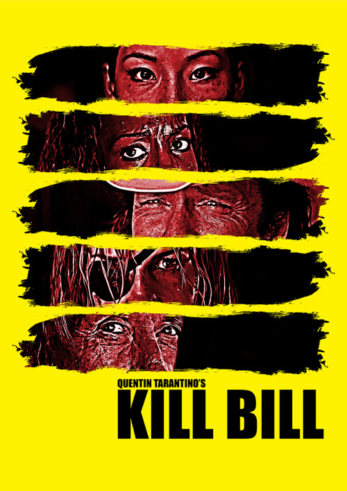 fuckyeahmovieposters:  Kill Bill by Linda Hordijk