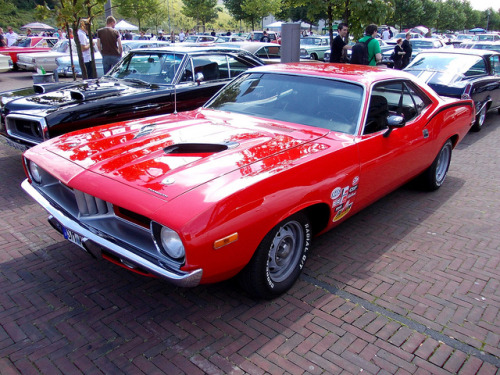 Plymouth Barracuda 440 1972-74 by Zappadong on Flickr.