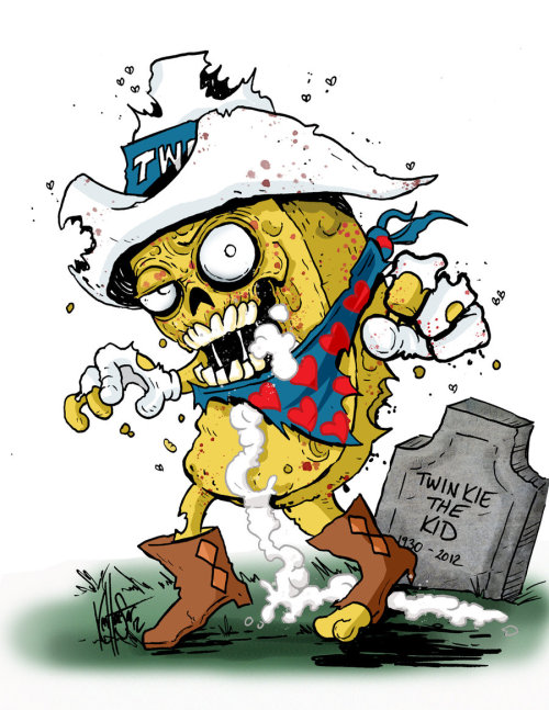 R.I.P. Twinkie The Kid by Corpsecomic