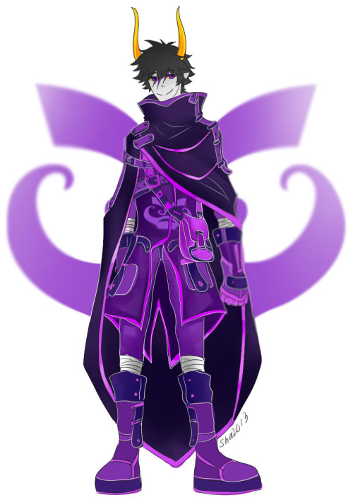 loliyanderesha:  Futurestuck - God Tier set - Gamzee Makara