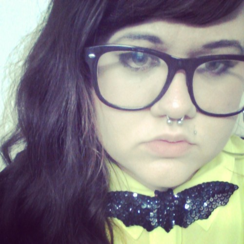 Basically obsessed w this bat bow tie