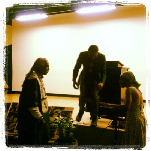The Last Black Man Standing(The Play) Feeling Inspired!  (at Imhotep Institute Charter High School)