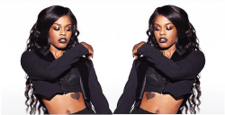 lightsonthewall:  azealia